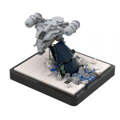 MOC-48067 Razor Crest Attack Micro - The Mandalorian