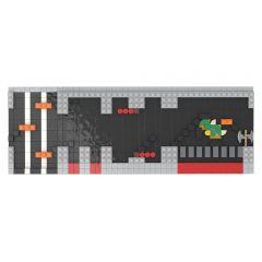 MOC-49541 71374 NES Castle Level - Super Mario