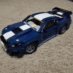 MOC-32898 10265 Mustang Shelby GT500 B model