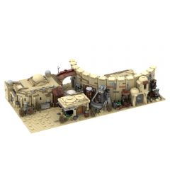 MOC-41406 Mos Eisley Spaceport from A New Hope for LEGO 75257 and 75271