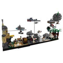 MOC-19493 Star Wars Skyline Architecture