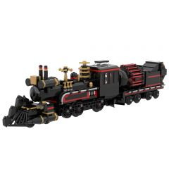 MOC-41639 Back to the Future 'Jules Verne' Time Train