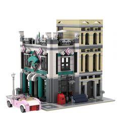 MOC-19379 Internet Caf¨¦ (Lego 10260 Downtown Diner Alternate Model Modular)