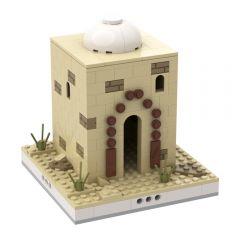 MOC-33390 Desert House #7 for a Modular Desert village
