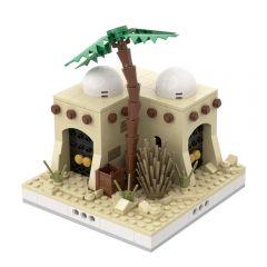MOC-32629 Desert House #4 for a Modular Desert village