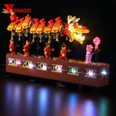 LEGO China Regional-Exclusive Dragon Dance 80102 Light Kit