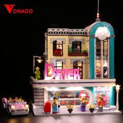 LEGO Downtown Diner 10260 Light Kit