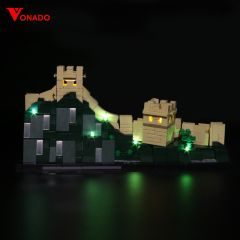 LEGO Great Wall of China 21041 Light Kit