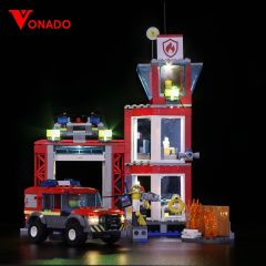 LEGO City Downtown Fire Brigade 60216 Light Kit