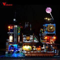 LEGO Ninjago City Docks 70657 Light Kit