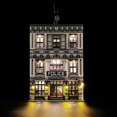 Modular Police Station With LED Light