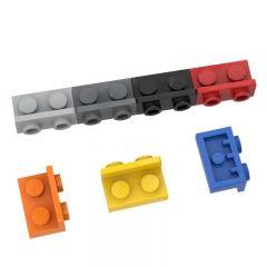 ANGULAR PLATE 1.5 BOT. 1X2 1/2 #99780 Dark Orange