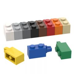 Hinge Brick 1x2 Locking with 1 Finger Horizontal End #30541