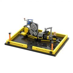MOC-34295 Pop up book Technic sytle