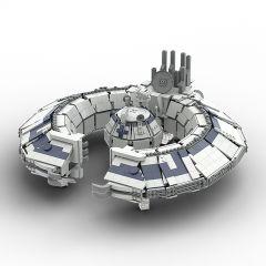 MOC-37000 UCS Lucrehulk Class Battleship-Lucrehulk