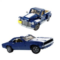 MOC-45479 10265 (2in1) Muscle Car and Pickup Truck LEGO Alternative Build