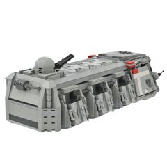 MOC Imperial Troop Transport (Mini-fig Scale)