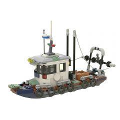 Small Fishing Trawler