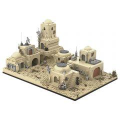Refurbished MOC-52200 LEGO MOC SW Tatooine Mos Eisley Cantina #1
