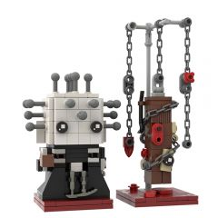MOC-44639 Hellraiser Pinhead Brickheadz 2 for 1