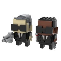 MOC-49034 Men in Black Brickheadz