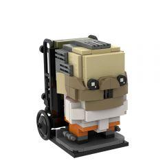 MOC-46069 Hannibal Lecter Brickheadz