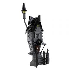 MOC-18780 Jack Skellington's House - Nightmare Before Christmas