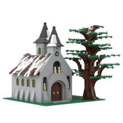 MOC-38797 Winter Church