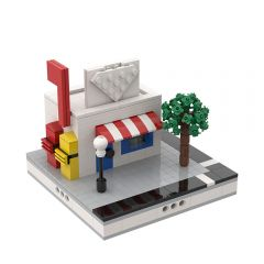 MOC-32982 Post Office for a Modular City