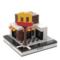 MOC-32162 McDonalds branch for a Modular City