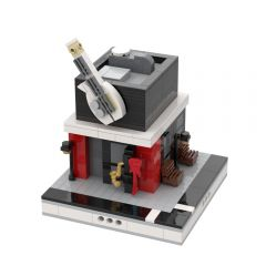 MOC-32493 Music Shop for a Modular City