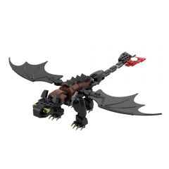 MOC-23064 Toothless - How to Train Your Dragon