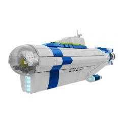 MOC-14154 Subnautica Cyclops Submarine