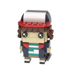MOC-26711 Stranger Things Brickheadz: Dustin