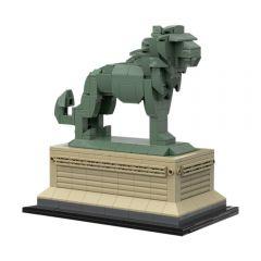 MOC-53134 Art Institute Lion