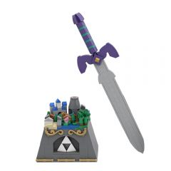 MOC-36344 Zelda MOC: The Master Sword & Dark Link Sword