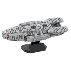 MOC-57856 Battlestar Galactica - UCS Scale?