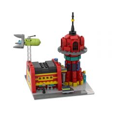 MOC Micro Planet Express