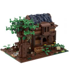 MOC-50031 Modular Medieval House Alternative Build of LEGO Set 21318