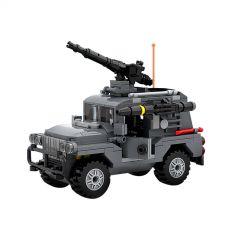 MOC-47231 Combat Jeep SWAT Team