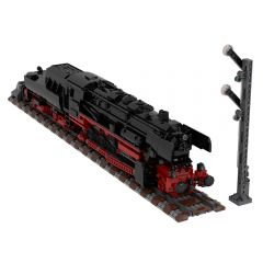 German Class 52.80 Steam Locomotive