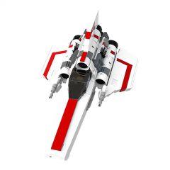MOC-23012 Battlestar Galactica MK1 Colonial Viper (White)