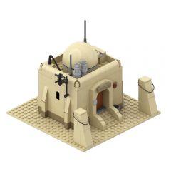 MOC-26468 Tatooine Single House Building-TAT01