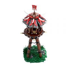 MOC-57715 WOW Fantasy Orc`s Tower