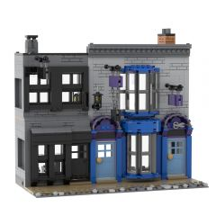 MOC-53216 Madame Malkins & Potage's Cauldron Shop (Diagon Alley)