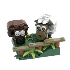 MOC-44733 Sheep (Peace and Love)