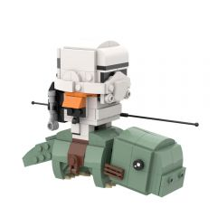 MOC-53560 Sandtrooper on Dewback Brickheadz