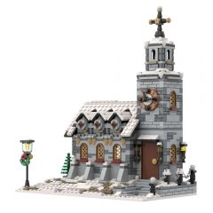 MOC-58208 little winter church