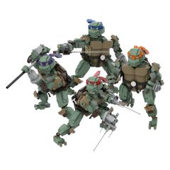 MOC-51796 TMNT Teenage Mutant Ninja Turtles-TMNT