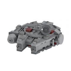 MOC-48537 Movie Accurate Millennium Falcon Microfighter Alternative Build of LEGO Set 75030